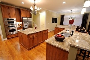 custom kitchen design in Spring, TX