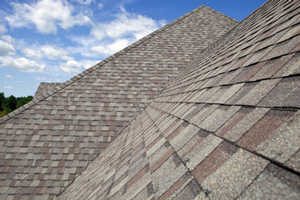 Homes roofed with asphalt shingles in Cypress