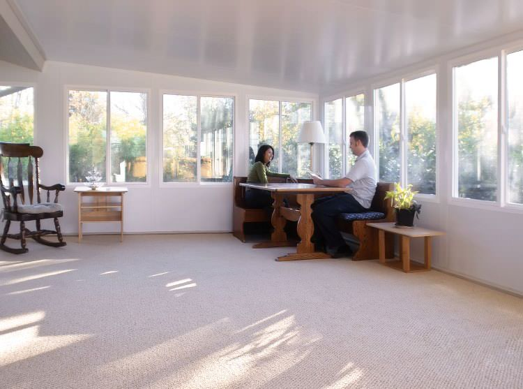 Straight Eave Sunrooms In Greater Houston